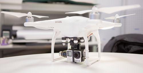 La startup Yashi Interactive experimenta nuevas tomas con un dron